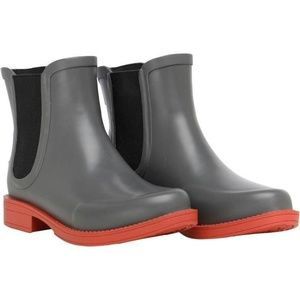 New UGG Aviana Chelsea Boot Charcoal Rubbe